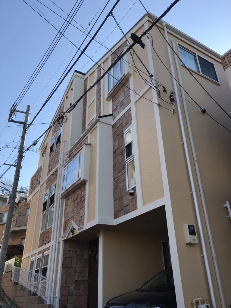品川区 Y様邸 屋根壁塗り替え工事