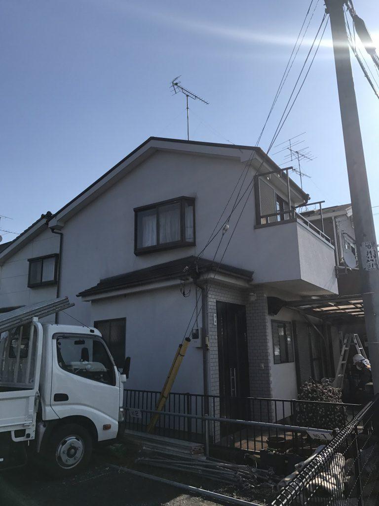 所沢市M様邸 外壁塗り替え工事