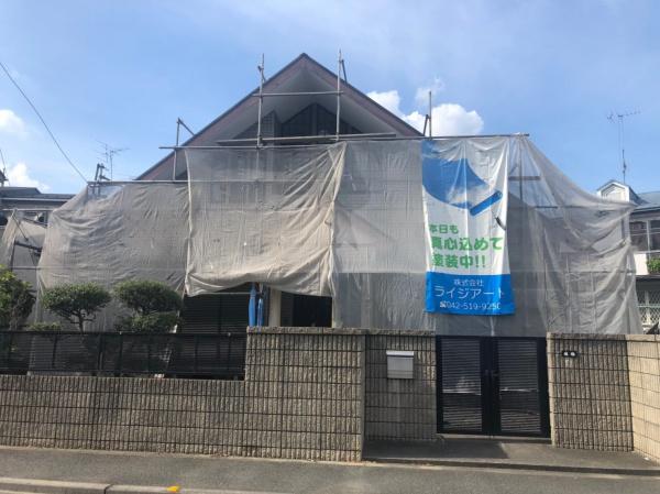 府中市S様邸 外壁塗装工事