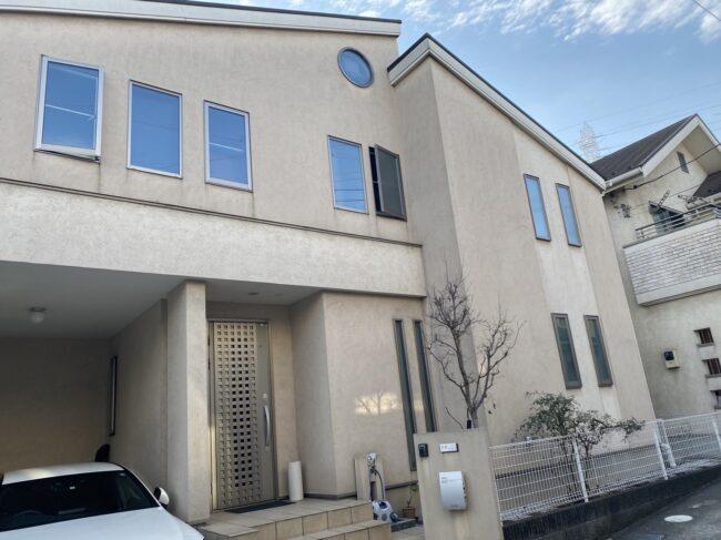 相模原市K様邸 シリコン塗料使用で外壁塗装工事